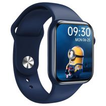 Relógio Smartwatch Inteligente Hw16 44mm Android iOS Bluetooth - Azul - Smart Bracelet