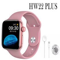Relogio Smartwatch Inteligente HW22 Plus 44mm - Rosa - Smart WearFit