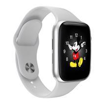 Relogio Smartwatch Inteligente LD5 Troca Pulseira e Faz Chamadas - Branco - iwo