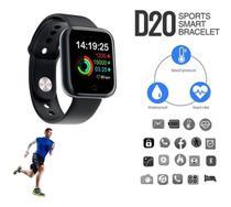 Relógio Smartwatch inteligente monitor saúde bluetooth Preto Y68 compativel com o IPHONE - Smartwatch fit pro