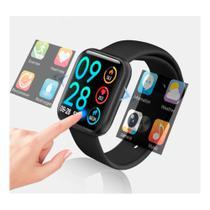 Relogio Smartwatch Inteligente P80 40mm + Pulseira Metal Extra - Preto - TFit