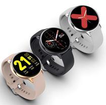 Relógio Smartwatch Inteligente S20 Bracelet Pressão Arterial Corrida Batimentos Frequência Cardíaca Android IOS - Import