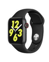 Relogio Smartwatch Inteligente W34s 44mm Android iOS Bluetooth - Preto - Smart Bracelet