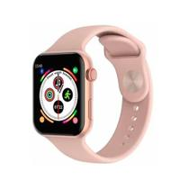 Relógio Smartwatch Inteligente W34s Monitor Cardíaco Pressão Esportes - Rosa - Iwo