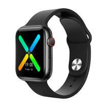 Relogio Smartwatch Inteligente X8 2021 44mm Android iOS Bluetooth - Preto - Smart Bracelet