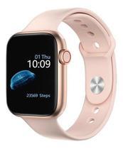 Relógio Smartwatch Iwo13 lite Série 6 Tela Infinita ROSA -