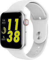 Relógio Smartwatch IWO8 Lite 44mm Fit Bluetooth Ios Android BRANCO -