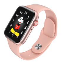 Relógio Smartwatch K8 Tela Infinita Rose -