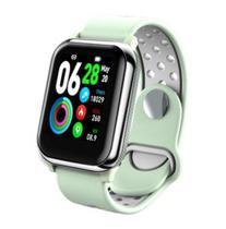 Relógio Smartwatch Ky11 Branco com Pelicula Protetora -
