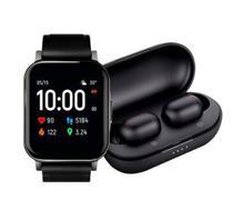 Relógio Smartwatch LS02 e Fone Ouvido GT1 Haylou No Brasil -