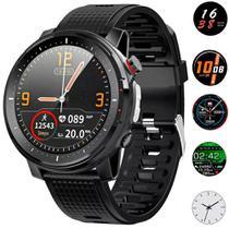Relógio Smartwatch Masculino Touch Screen Bluetooth Smart Wear Adventure Preto -