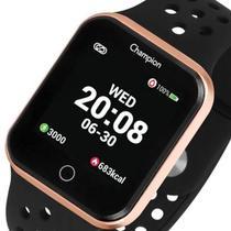 Relógio Smartwatch Medidor Pressão Arterial Rosê saúde fitness - Champion