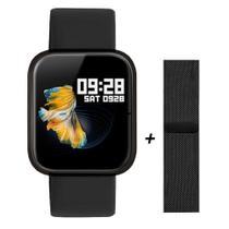 Relógio Smartwatch P70 Monitor Cardíaco Pressão Arterial Sono Passos Android Ios - Preto - Smart Bracelet