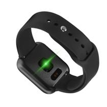 Relógio Smartwatch P70 Preto Monitor Cardíaco Pressão Arterial Sono Passos Android Ios Preto - Samsung