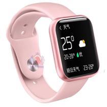 Relógio Smartwatch P80 Sports Bluetooth Fitness Moderno - P 80 Rosa