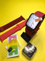 Relogio Smartwatch Pl6 Pro- Bluetooth Monitor Android Ios Nf -