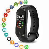 Relogio Smartwatch Pulseira Inteligente RMT4 Smartband Medidor Cardíaco Pressao Arterial Esportes - Artx