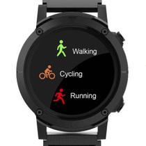 Relogio smartwatch redondo pulseira preta seculus 79004g0svnv3 -
