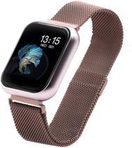 Relógio Smartwatch T80 + 2 pulseiras + Película -