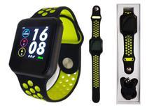 Relógio Smartwatch Touch Sport Fitness Pressão Arterial f8 f8v - Nbc