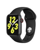 Relogio Smartwatch W34s Atualizado 44mm Android iOS - Preto - Smart Bracelet