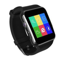 Relogio SmartWatch X6 Bluetooth Camera Celular Chip Cartao Musica Android E Ios - Preto - X Smart