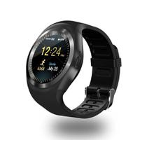 Relógio Smartwatch Y1 Inteligente Bluetooth Android  Ios Preto