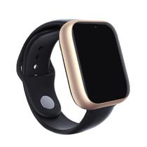 Relogio SmartWatch Z6 Bluetooth Camera Celular Chip Cartao Musica - Dourado - Smart Bracelet