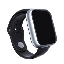 Relogio SmartWatch Z6 Bluetooth Camera Celular Chip Cartao Musica - Prata - Smart Bracelet