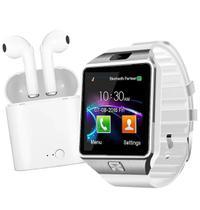 Relógio Smartwatch Z9 Ios/android Whats Atende e Faz Chamada + Fone Sem Fio -