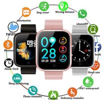Relogio SmartWhatch P70 Pro Bluetooth WhatsApp Face Pulseira em Metal Prata - Smart watch