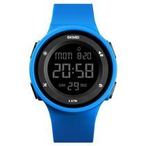 Relógio Sport Skmei Digital 1445 Prova D'água Cronômetro Azul -