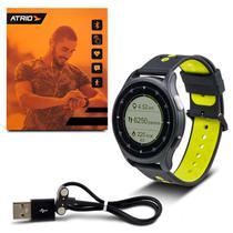 Relógio Sportwatch Chronus Atrio Es252 GPS Bluetooth Android e IOS Monitor Cardíaco A Prova DÁgua -