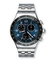 Relógio Swatch Boxengasse Yvs423g Aço Prata Original -