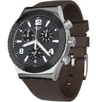 Relógio Swatch Duo Brown - YVS450 -