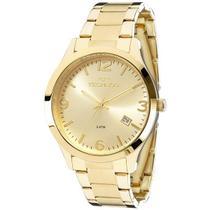 Relógio Technos Feminino Analógico Elegance Dourado Calendário 2315ACD/4X -