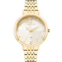 Relógio Technos Feminino Dourado 2036MJG/4B Analógico 5 Atm Cristal Mineral Tamanho Médio -