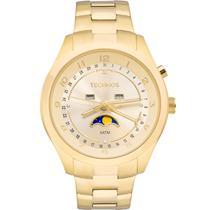 Relógio Technos Feminino Dourado Calendário Lunar 6P80AA/4X -