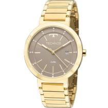 Relógio Technos Feminino Dourado Elegance 2115KTL/4M Analógico 5 Atm Cristal Mineral -
