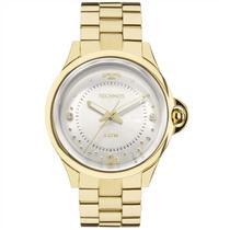 Relógio Technos Feminino Dourado Elegance Crystal 2039BM/4K -