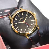 Relógio Technos Masculino Analógico Couro Preto 2115MMITDY/4P -