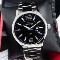 Relógio Technos Masculino Analógico de Aço Prata Garantia de um ano 2115GU/1A -