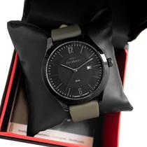 Relógio Technos Masculino Couro Classic Steel  2115MOU/2P Calendário -