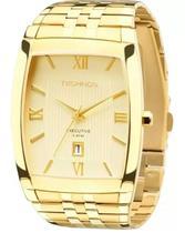Relógio Technos Masculino Dourado Analógico 1N12MP/4X -