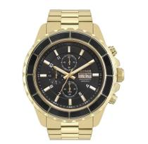 Relógio Technos Masculino Dourado em Aço Cronografo Cerâmica OS00AE/4P -