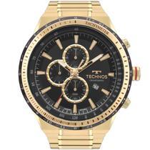 Relógio Technos Masculino Dourado Skymaster OS10FA/4P -