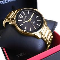 Relógio Technos Masculino Golf Dourado Analógico 2115tt/4p -