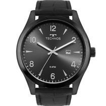 Relógio Technos Masculino Preto Classic Steel 2115MRD/2P Analógico 5 Atm Cristal Mineral -