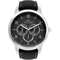 Relógio Technos Masculino Preto Grandtech 6P79BJ/0P Analógico 5 Atm Cristal Mineral -
