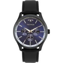 Relógio technos masculino preto redondo - 6p29ajp/2a -